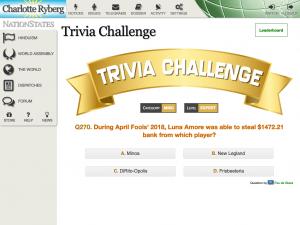Trivia Challenge - NSindex